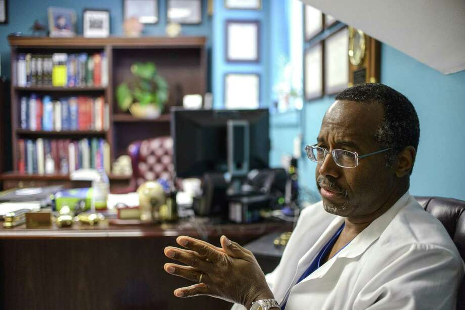 Ben Carson, a pediatric neurosurgeon at Johns Hopkins Hospital, has been criticized for a speech he made attacking the president on health care. A reader defends him against  critics. Photo: Matt Roth, New York Times
