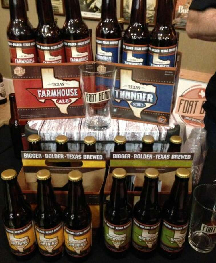 Fort Bend Brewing showed off its new six-packs. That should make the Missouri City brewery\'s four core beers more familiar around the area.