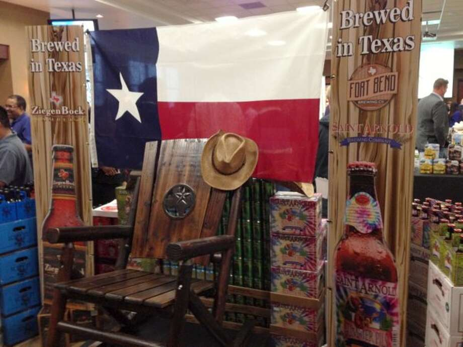 Silver Eagle, whose lineup is overwhelmingly made up of A-B InBev products, continues to expand its stable of Texas-brewed crafts. Saint Arnold, Karbach, Rahr & Sons and Fort Bend Brewing all got prominent displays at the trade show.