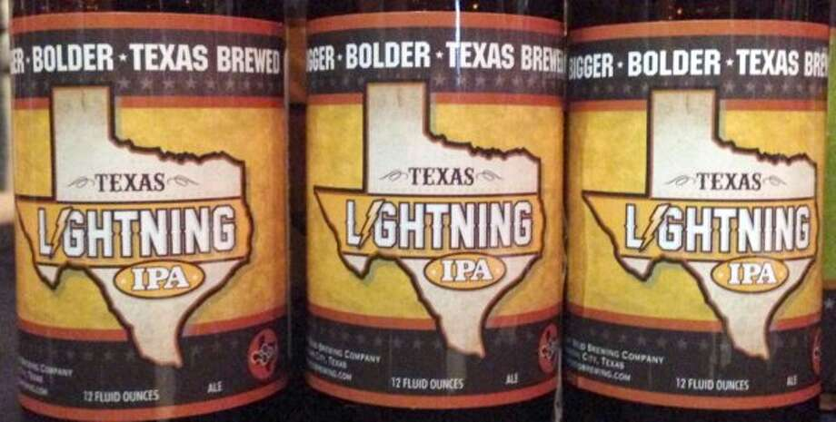 Texas Lightning IPA.