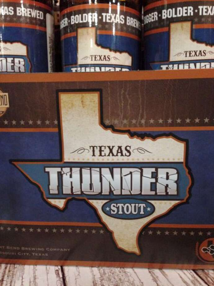 My favorite of the Fort Bend brews was the Texas Thunder stout.