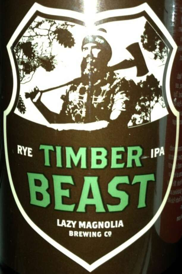 """The Timber Beast label and beer cartons feature a lumberjack with the letters """"RYP"""" on his cap. The name and image honor Mississippian Butch Bailey, who founded the grass-roots Raise Your Pints organization that successfully lobbied the state legislature to allow breweries there to make beer up to 10 percent alcohol by weight."""