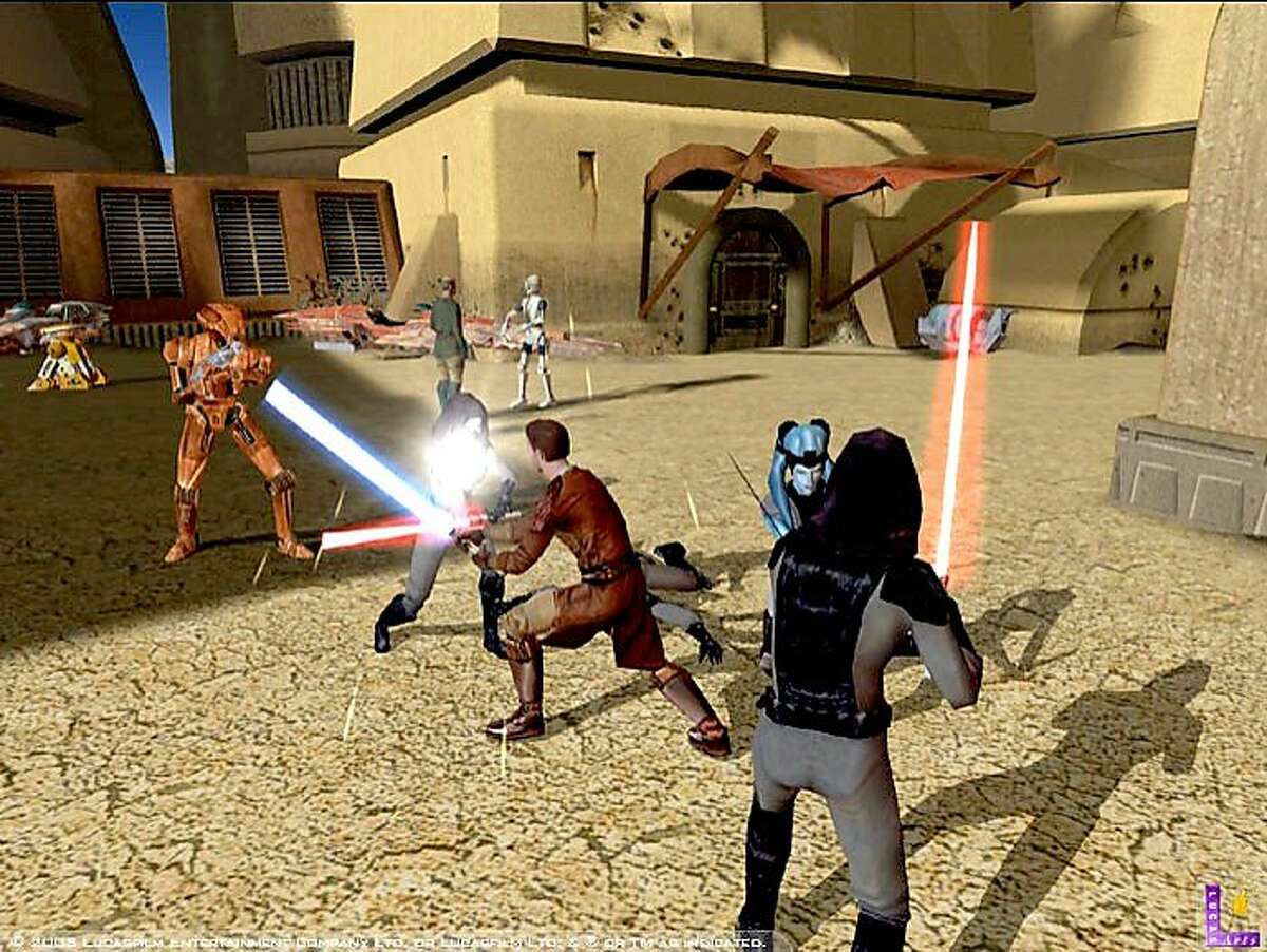 GAMES12B_HO Star Wars: Knights of the Old Republic video game
