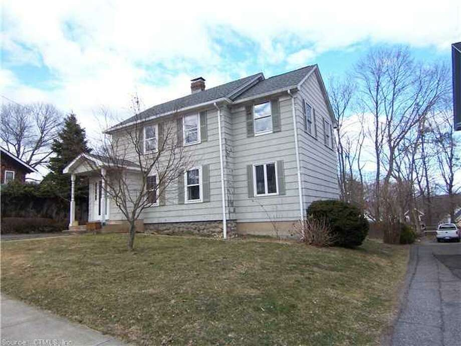 Naugatuck: This home at the corner of Millville Avenue and Park Avenue in Naugatuck was reduced by $20,000 on April 4, for a new sale price of $149,900.