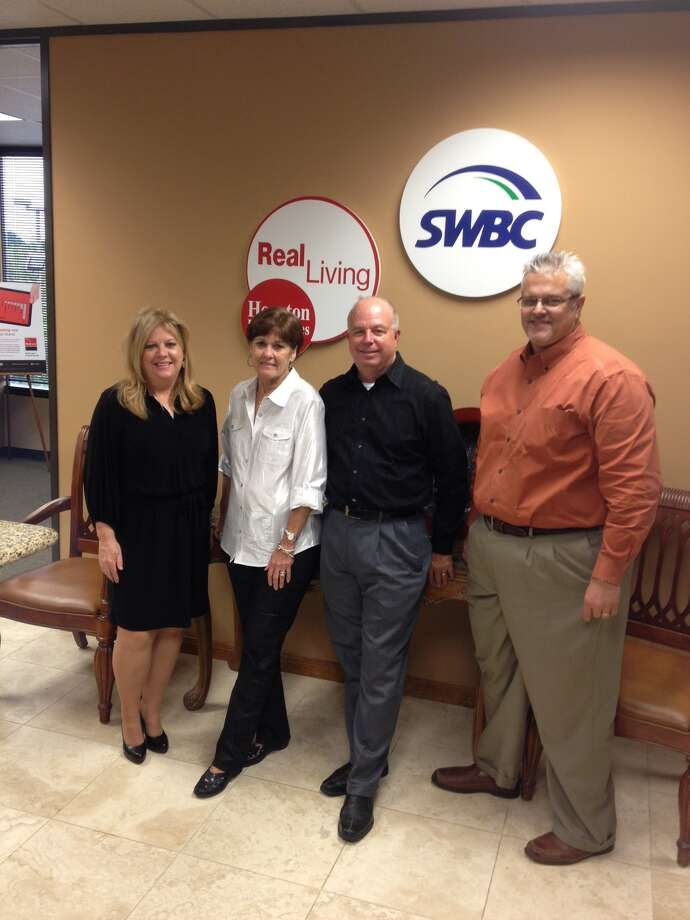 Pictured, from left, are Becky Przylucki, Cindy Williams, Larry Williams and Richard Falgout.