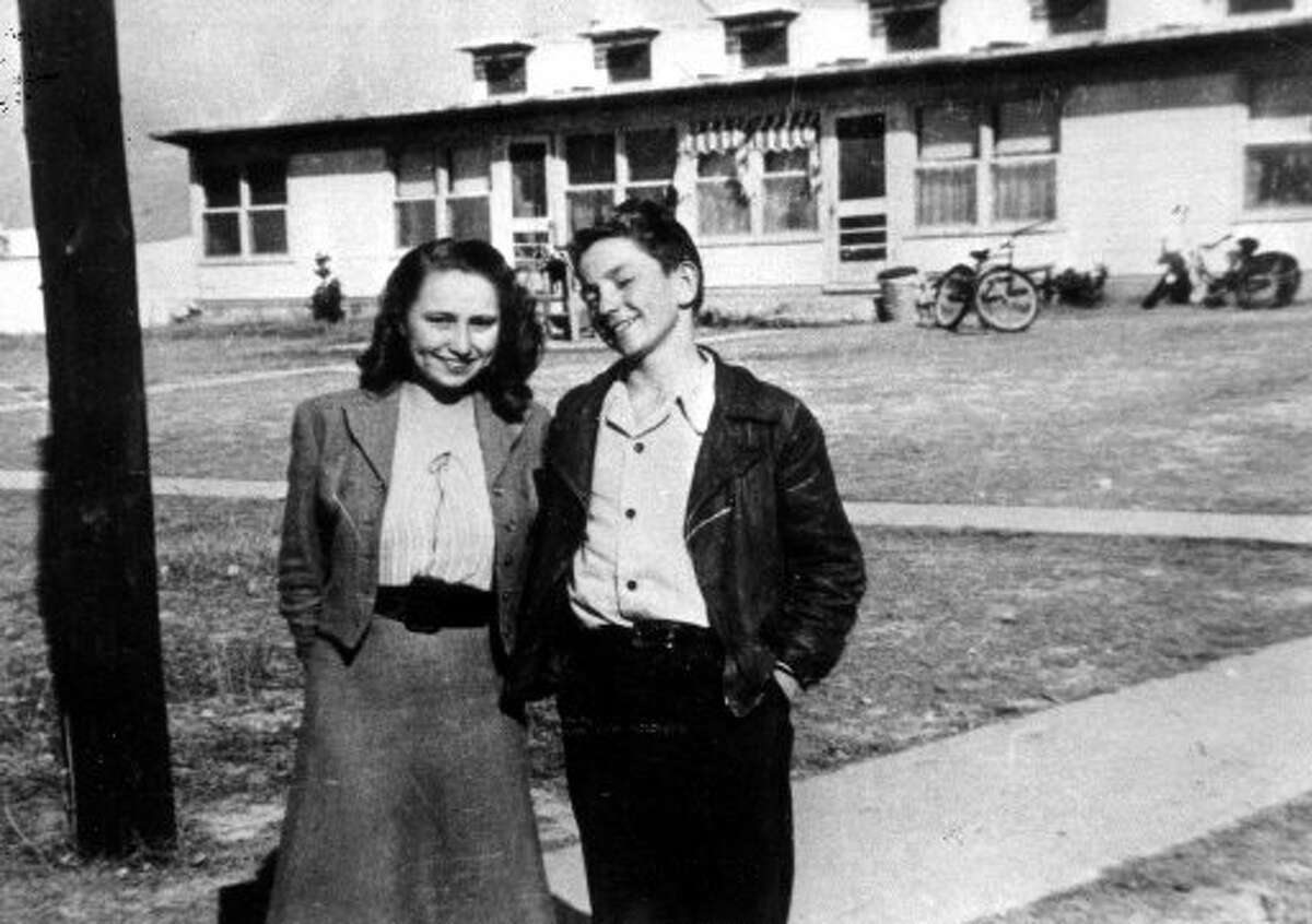 Family Willie: Nelson and his sister Bobbie as teens in Abbott, Texas. The two began playing music together as kids. Bobbie joined Willie's Family band in 1973. Keep clicking for more photos of Willie Nelson through the years.