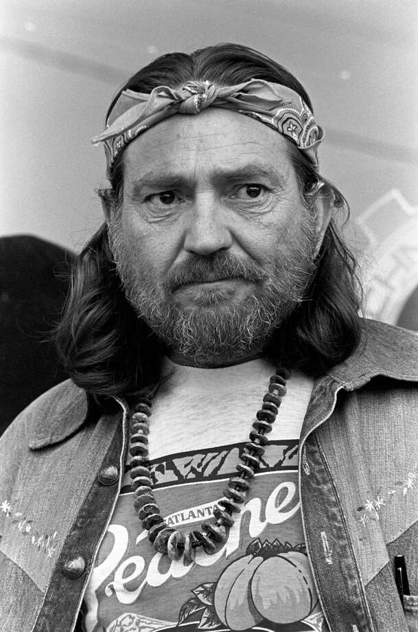 Solemn Willie: Nelson circa 1980 rocking the reverse bandana more than a decade before Tupac Shakur made it a thing. Photo: Tom Hill, Getty Images / WireImage