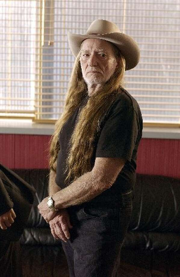"Green Willie: Leaving the blinds open during the day is taxing on the air conditioner. This upsets Willie. Nelson appears on TV's ""Monk"" in 2002. Photo: Getty Images"