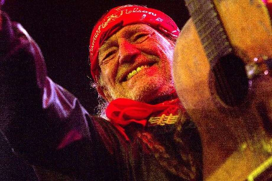 Willie loves a festival. Here he's all smiles at the Roskilde Festival in Denmark in 2000. Photo: Getty Images