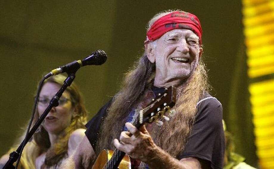 Willie and Farm Aid find their way to Randall's Island in New York in 2007. Photo: Getty Images