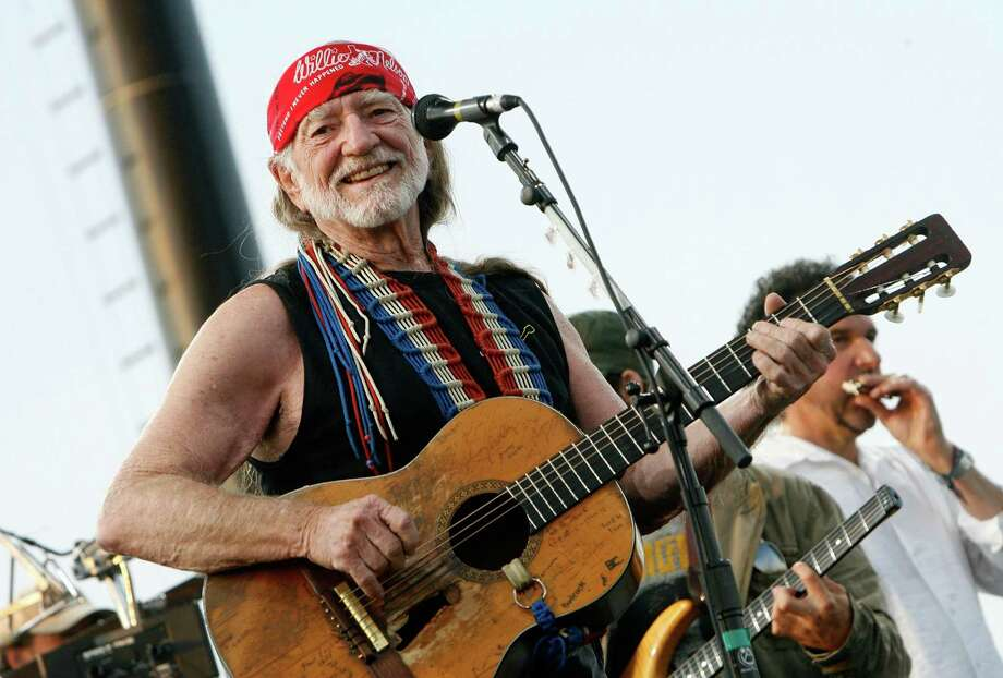 More festival Willie: At the Coachella Music Festival in Indio, California, in 2007.  Photo: Kevin Winter, Getty Images / 2007 Getty Images