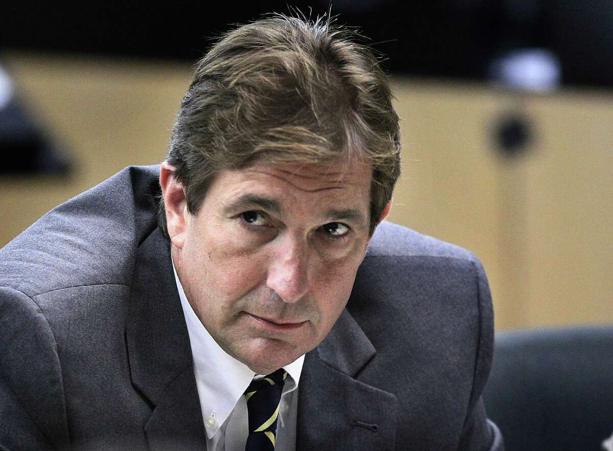 John Goodman, shown in a West Palm Beach court last year, was convicted of DUI manslaughter in a crash that left a 23-year-old dead.(AP Photo/The Palm Beach Post, Lannis Waters, Pool)