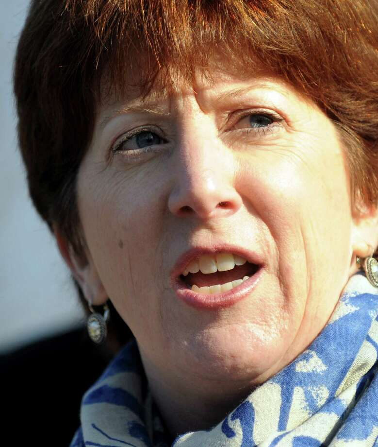 Kathy Sheehan, Albany city treasurer,  announces she'll run for mayor during a news conference on Saturday, Nov. 17, 2012, at Washington Park in Albany, N.Y. (Cindy Schultz / Times Union) Photo: Cindy Schultz / 00020129A