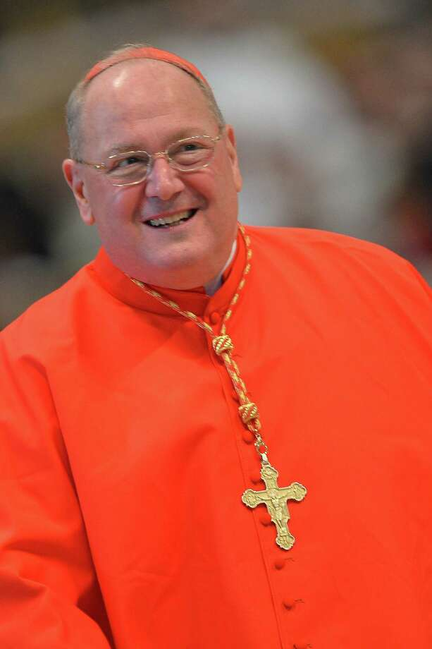 Cardinal Timothy Dolan recently appeared on television to discuss church opinions on gay rights. Photo: Gabriel Bouys / AFP / Getty Images