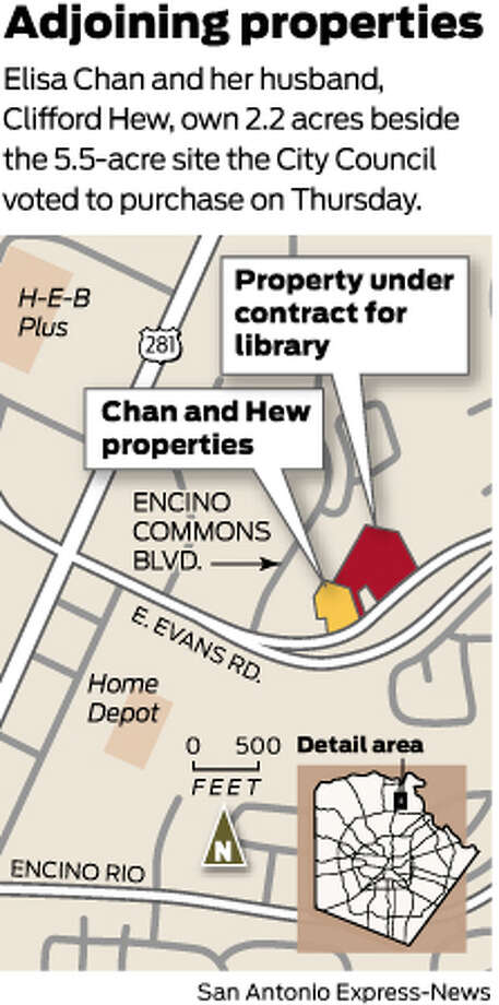 Elisa Chan and her husband, Clifford Hew, own 2.2 acres beside the 5.5-acre site the City Council voted to purchase on Thursday. Photo: Mike Fisher