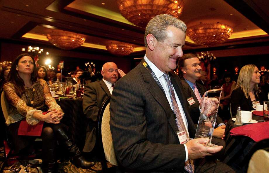 Anadarko Petroleum Corp., led by CEO Al Walker, took the award for top large employer last year. Photo: Nick De La Torre, Staff / © 2012  Houston Chronicle