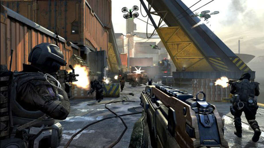 "Due in large part to its multiplayer mode, ""Call of Duty: Black Ops II"" dominated U.S. sales charts during the first quarter of 2013 despite releasing in November 2012."