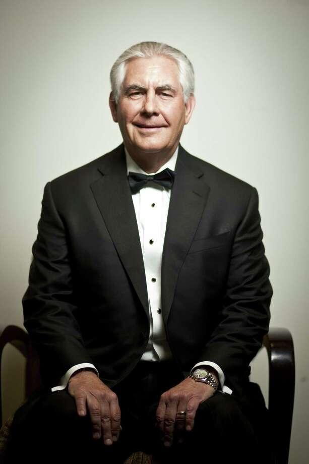 16. Rex Tillerson,chief executive officer of Exxon Mobil