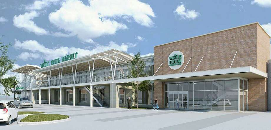 A longtime player in the Houston grocery scene, Austin-based Whole Foods expanded one of its stores this year, opened a Katy store and plans to open two more locations in the next two years. Photo: Courtesy Rendering