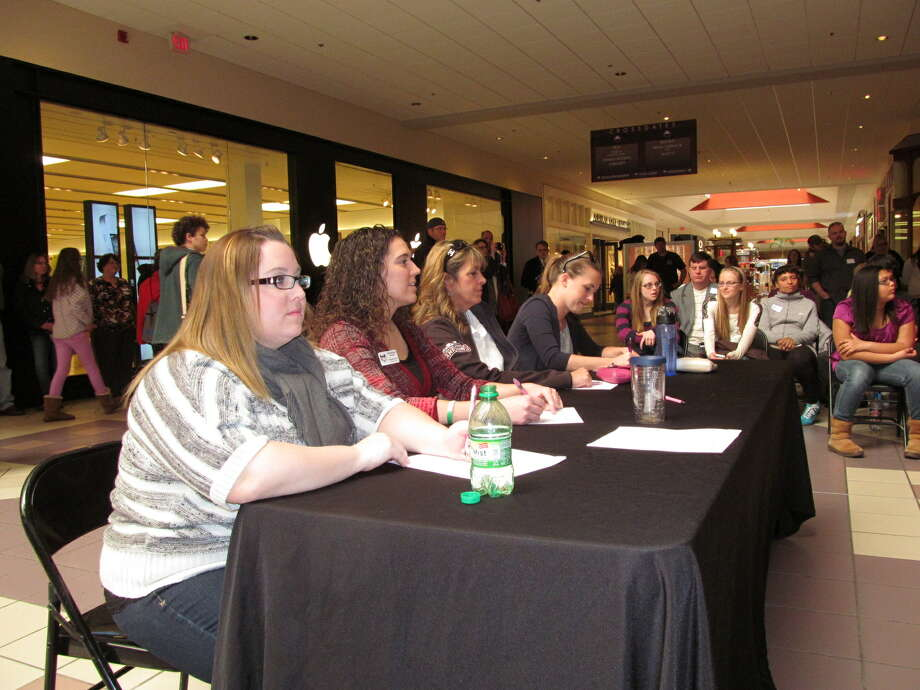 Were you Seen at the Tri-City ValleyCats National Anthem tryouts at Crossgates Mall on Saturday, April 6, 2013? Photo: Kristi Gustafson Barlette/Times Union