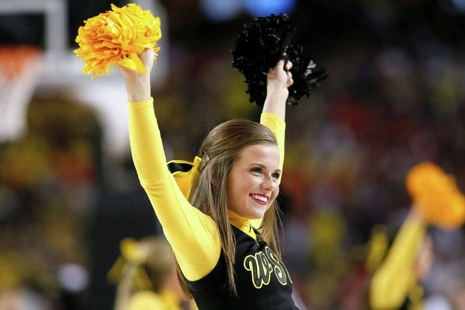 Road to Atlanta: Look back at the full March Badness bracketLive Updates: Follow all the Final Four actionA cheerleader for the Wichita State Shockers performs in the first half against the Louisville Cardinals during the 2013 NCAA Men's Final Four Semifinal at the Georgia Dome on April 6, 2013 in Atlanta, Georgia. Photo: Kevin C. Cox, Getty Images / 2013 Getty Images