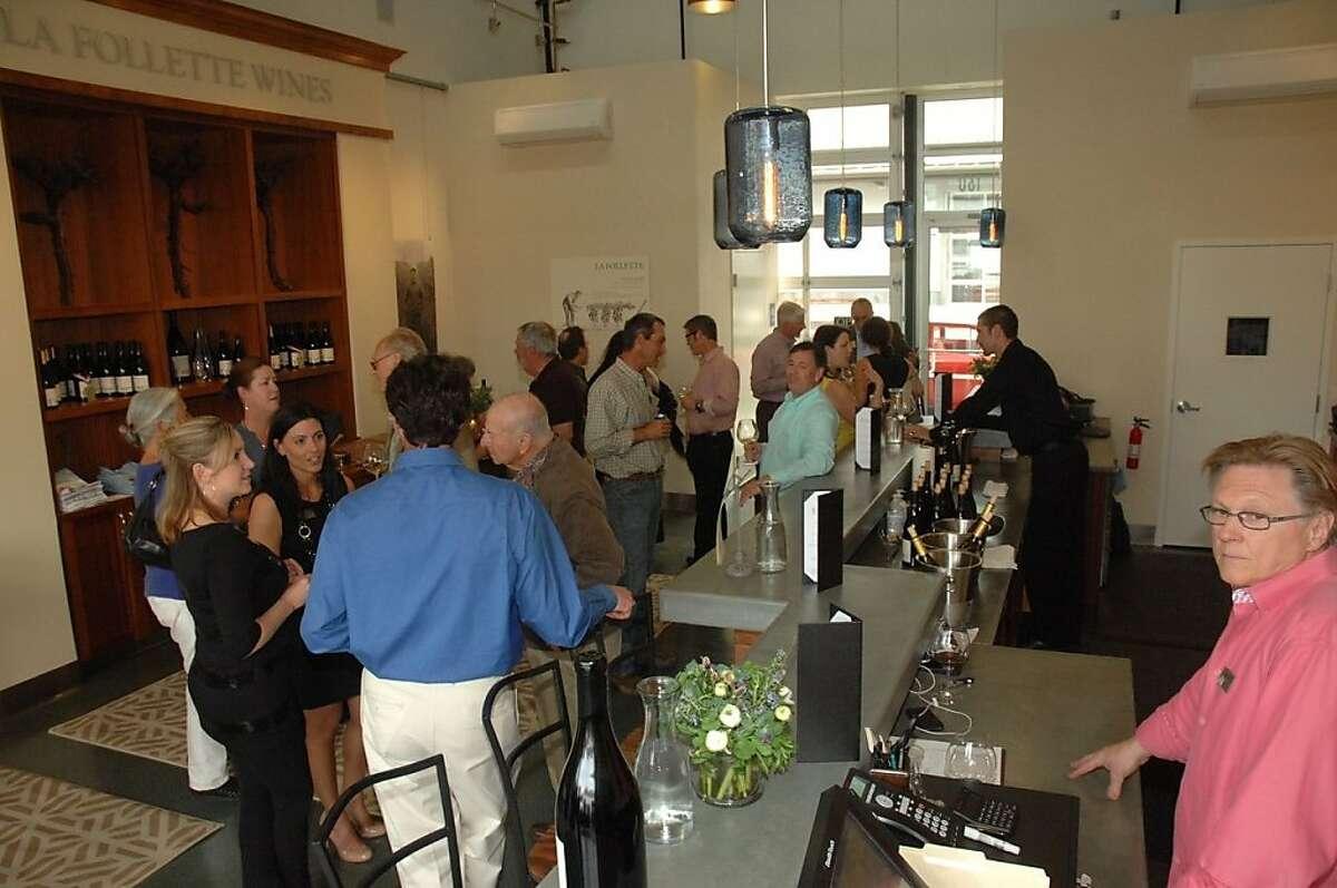 The La Follette tasting room