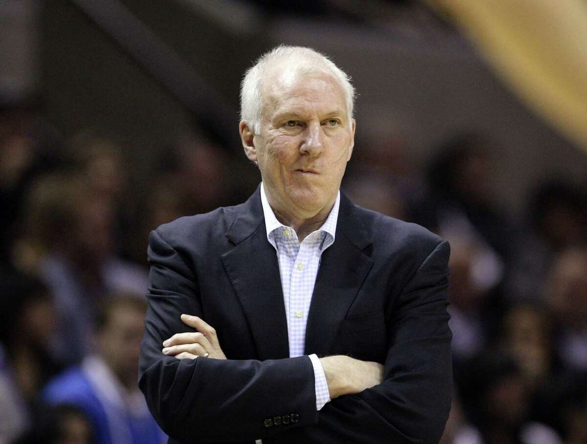 His Air Force Academy ring was one of the items Spurs coach Gregg Popovich lost.
