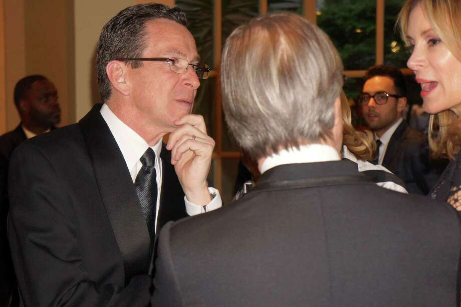 CT Governor Dannel P. Malloy at the Time For Lyme Gala in Greenwich Saturday night? 4/6/2013 Photo: Todd Tracy/ Hearst Connecticut Media Group