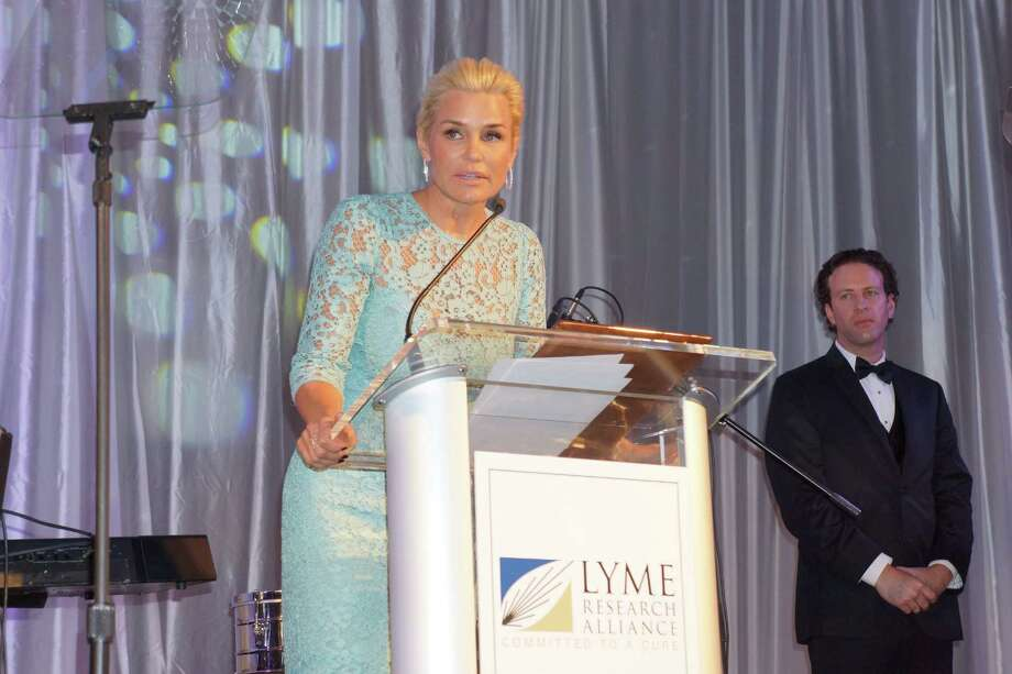 Yolanda Foster from Real Housewives of Beverly Hills was the Special Guest at the Time For Lyme Gala in Greenwich Saturday night? 4/6/2013 Photo: Todd Tracy/ Hearst Connecticut Media Group