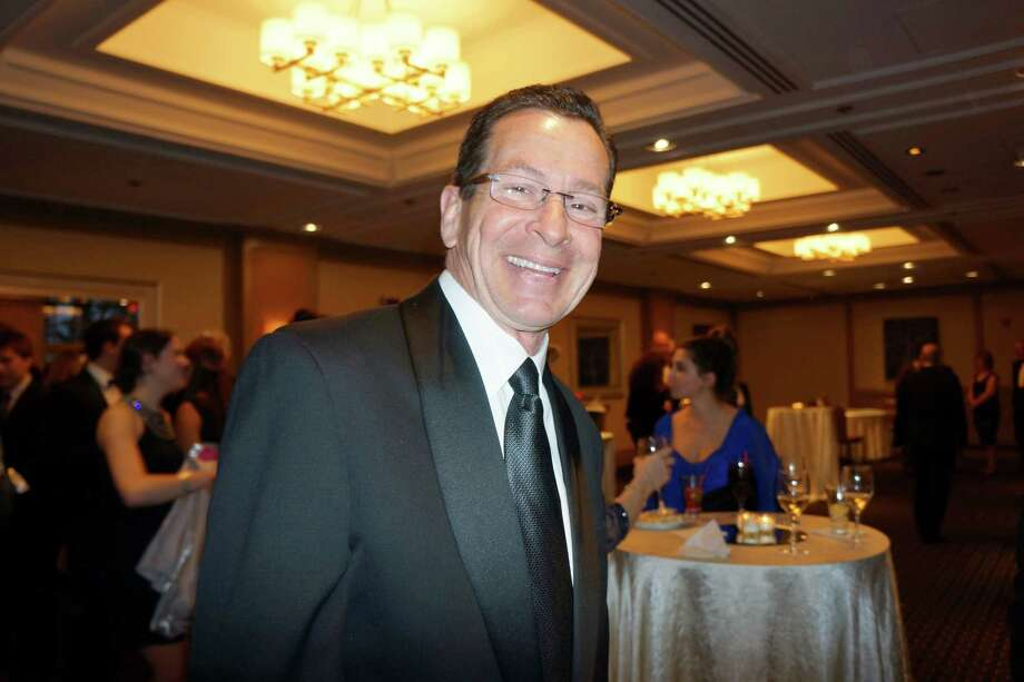 CT Governor Dannel P. Malloy at the Time For Lyme Gala VIP Reception in Greenwich Saturday night? 4/6/2013 Photo: Todd Tracy/ Hearst Connecticut Media Group