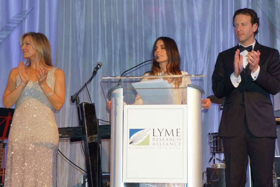 Brett Kristoff, Ally Hilfiger and Mark Hopwood Event Chairs at the Time For Lyme Gala in Greenwich Saturday night? 4/6/2013 Photo: Todd Tracy/ Hearst Connecticut Media Group