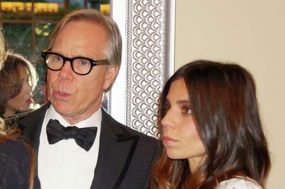 Tommy Hilfiger and his daughter Ally at the Time For Lyme Gala VIP Reception in Greenwich Saturday night? 4/6/2013 Photo: Todd Tracy/ Hearst Connecticut Media Group