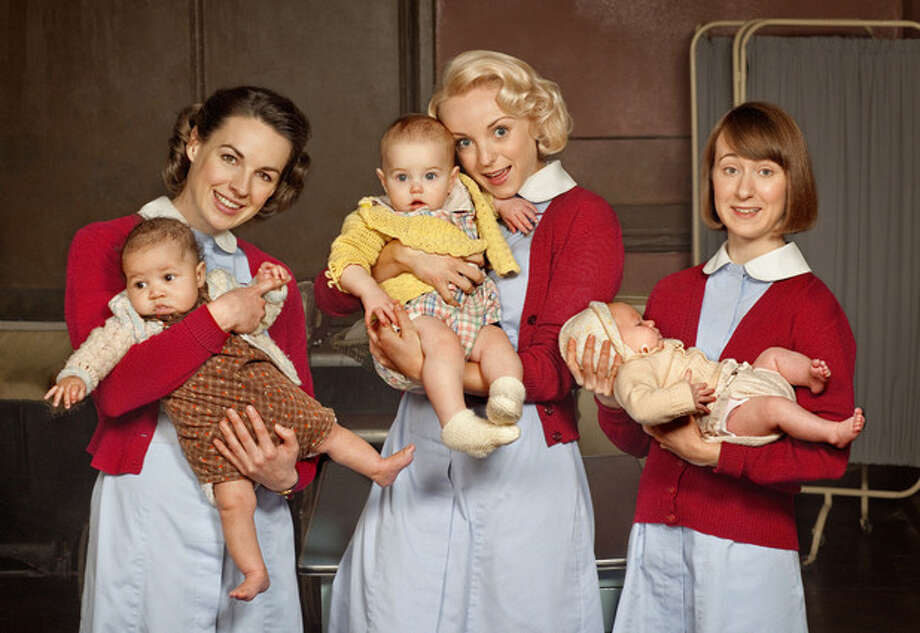 The heroines of \'Call the Midwife\' help pregnant women in East London in the1950s.