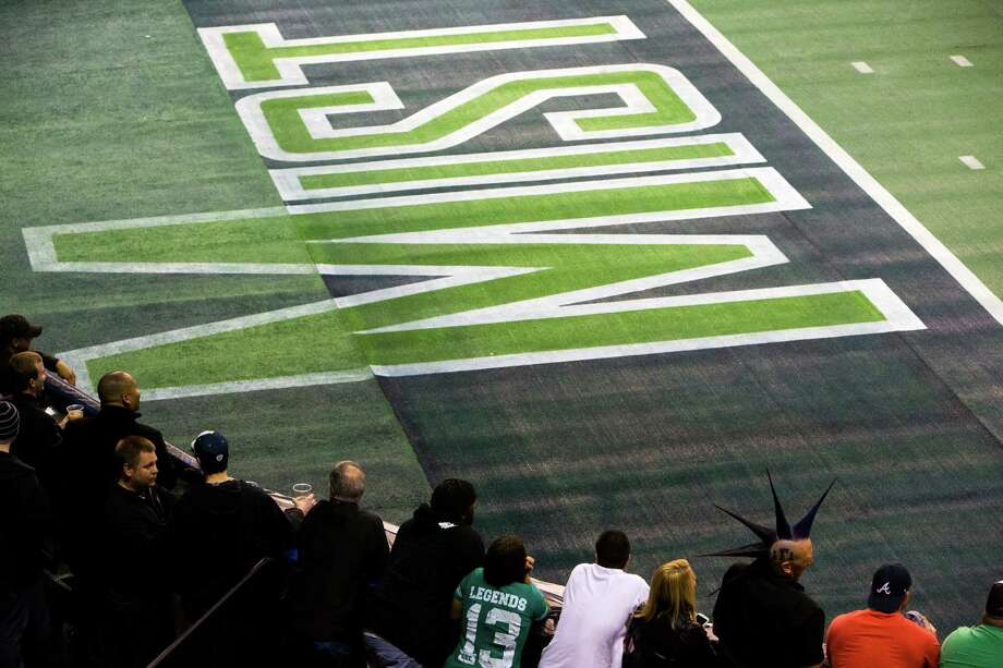 Fans await the Seattle Mist to retake the field during halftime at a lingerie football game Saturday, April 6, 2013, at the ShoWare Center in Kent. Photo: JORDAN STEAD / SEATTLEPI.COM