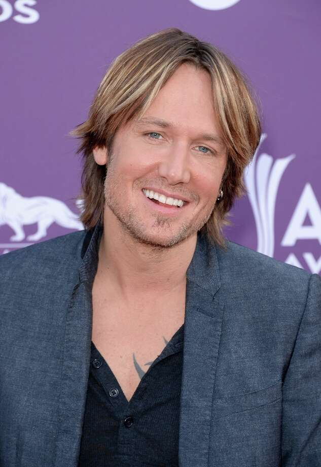 LAS VEGAS, NV - APRIL 07:  Musician Keith Urban arrives at the 48th Annual Academy of Country Music Awards at the MGM Grand Garden Arena on April 7, 2013 in Las Vegas, Nevada. Photo: Jason Merritt, Getty Images / 2013 Getty Images