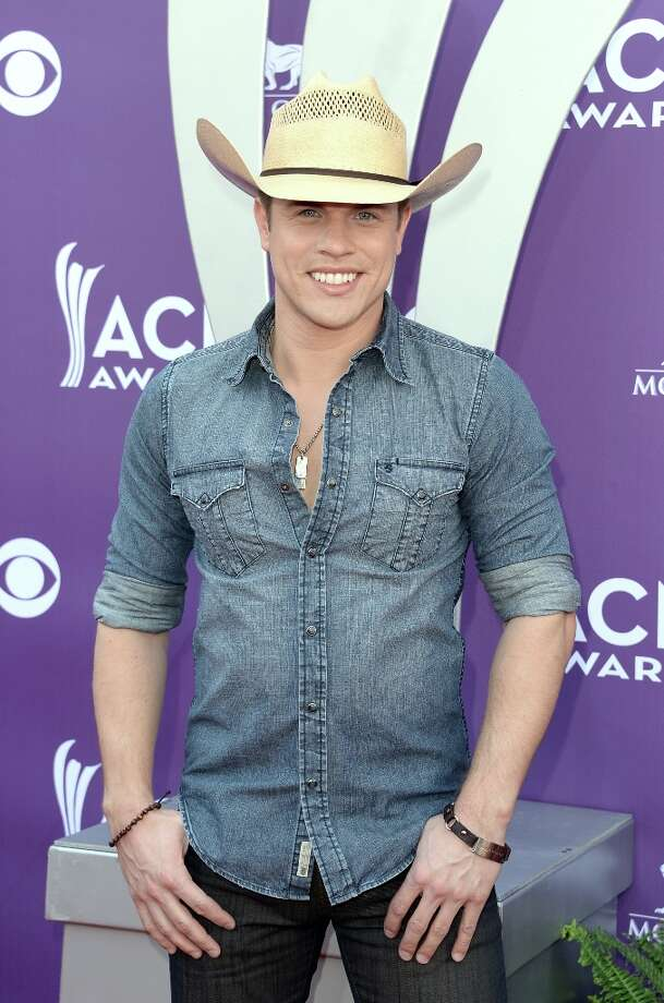 LAS VEGAS, NV - APRIL 07:  Singer Dustin Lynch arrives at the 48th Annual Academy of Country Music Awards at the MGM Grand Garden Arena on April 7, 2013 in Las Vegas, Nevada. Photo: Jason Merritt, Getty Images / 2013 Getty Images