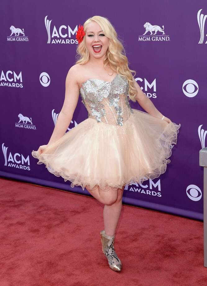 LAS VEGAS, NV - APRIL 07:  RaeLynn attends the 48th Annual Academy of Country Music Awards at the MGM Grand Garden Arena on April 7, 2013 in Las Vegas, Nevada. Photo: Jason Merritt, Getty Images / 2013 Getty Images