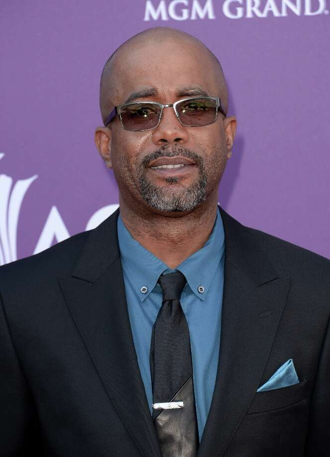 LAS VEGAS, NV - APRIL 07:  Musician Darius Rucker arrives at the 48th Annual Academy of Country Music Awards at the MGM Grand Garden Arena on April 7, 2013 in Las Vegas, Nevada. Photo: Jason Merritt, Getty Images / 2013 Getty Images