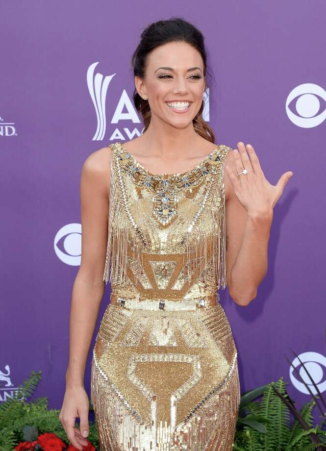 LAS VEGAS, NV - APRIL 07:  Singer Jana Kramer arrives at the 48th Annual Academy of Country Music Awards at the MGM Grand Garden Arena on April 7, 2013 in Las Vegas, Nevada. Photo: Jason Merritt, Getty Images / 2013 Getty Images