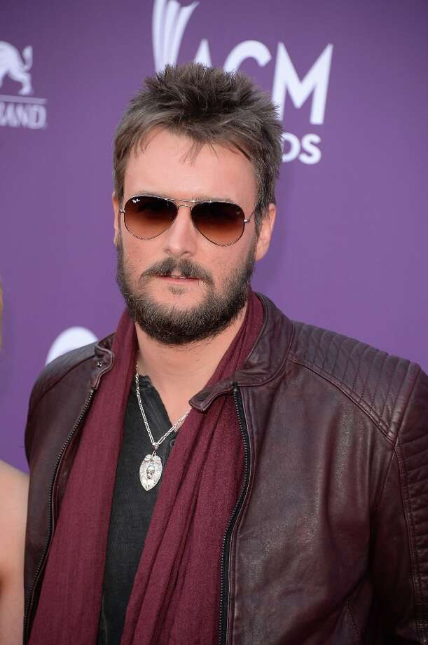 LAS VEGAS, NV - APRIL 07:  Singer Eric Church arrives at the 48th Annual Academy of Country Music Awards at the MGM Grand Garden Arena on April 7, 2013 in Las Vegas, Nevada. Photo: Jason Merritt, Getty Images / 2013 Getty Images