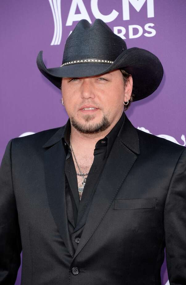 LAS VEGAS, NV - APRIL 07:  Musician Jason Aldean attends the 48th Annual Academy of Country Music Awards at the MGM Grand Garden Arena on April 7, 2013 in Las Vegas, Nevada. Photo: Jason Merritt, Getty Images / 2013 Getty Images
