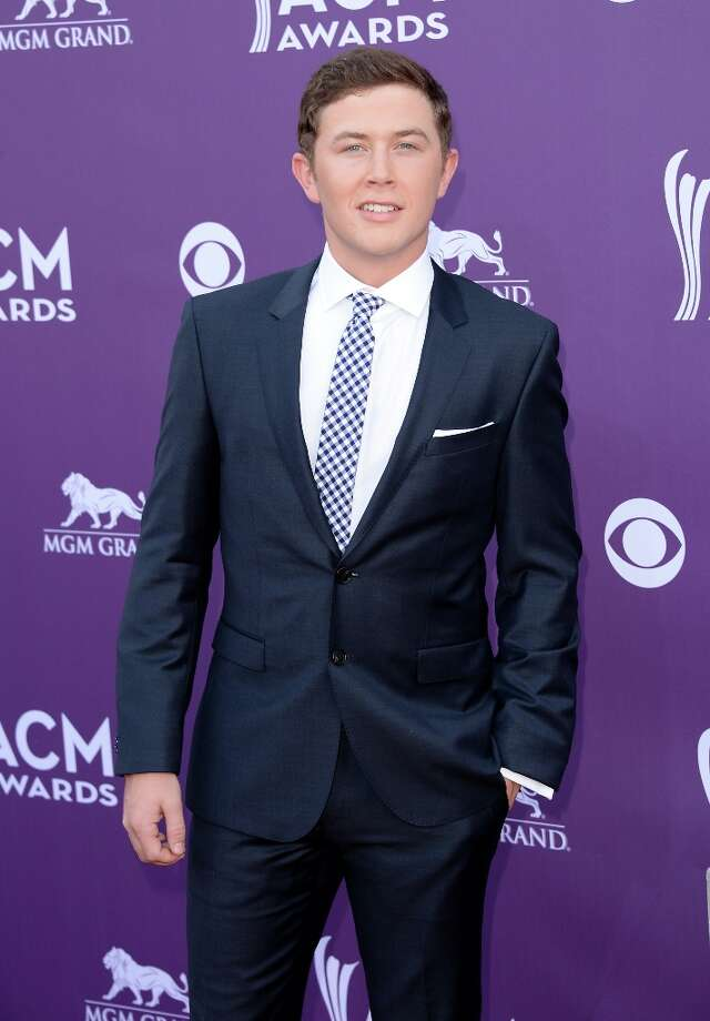 LAS VEGAS, NV - APRIL 07:  Singer Scotty McCreery attends the 48th Annual Academy of Country Music Awards at the MGM Grand Garden Arena on April 7, 2013 in Las Vegas, Nevada. Photo: Jason Merritt, Getty Images / 2013 Getty Images