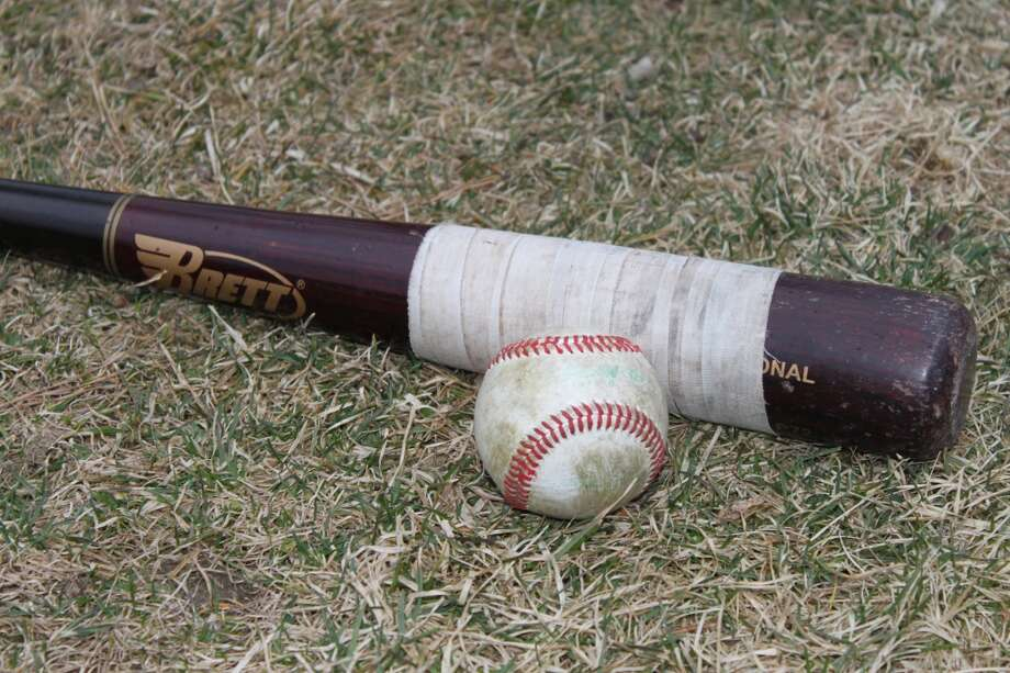 A bat and ball is all you need on a nice spring day.