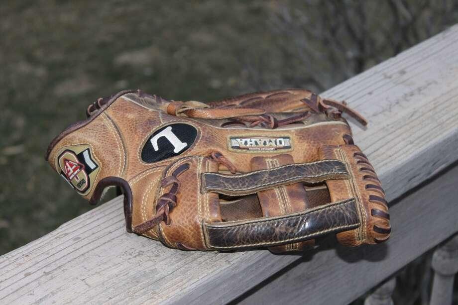 My outfielders mitt. A Louisville Pro-Flare.