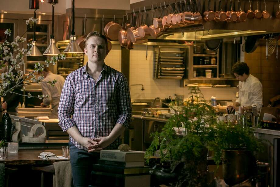 Chef Joshua Skenes at Saison.