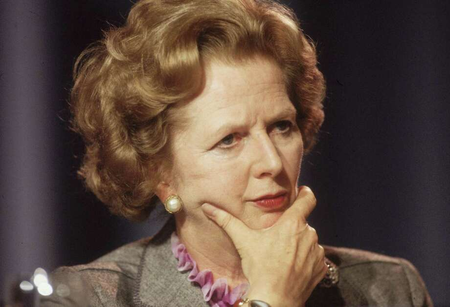 FILE - APRIL 8: Lord Bell, spokesperson for Baroness Margaret Thatcher, announced in a statement that the former British Prime Minister died peacefully following a stroke aged 87.   October 1985:  British prime minister Margaret Thatcher looking pensive at the Conservative Party Conference in Blackpool.  (Photo by Hulton Archive/Getty Images) Photo: Hulton Archive, Getty Images / Hulton Archive