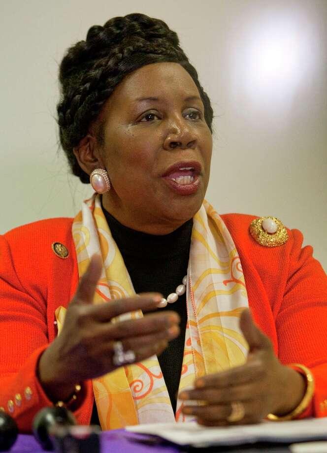 Rep. Sheila Jackson Lee 1.Houston 2.HIV 3.African 4.Aids 5.Iraq 6.NASA 7.Immigration 8. Texas 9.Haiti 10.Inserting Photo: CHRON / © 2011 Houston Chronicle