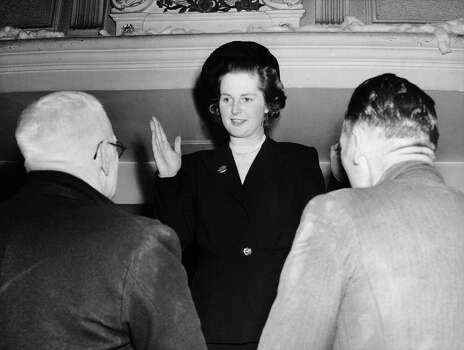 Margaret Thatcher (then Margaret Roberts), The Youngest Candidate Of The Conservative Party During Her Election Campaign In Dartford In 1950. Photo: Keystone-France, File / 1950 Keystone-France