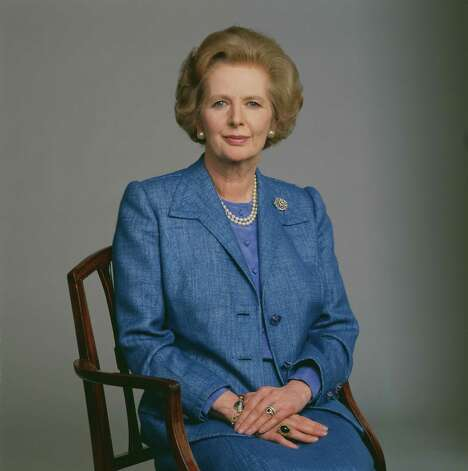 Margaret Thatcher: Britain's first female prime minister died from a stroke on April 8, 2013 at the age of 87. Photo: David Montgomery, File / 2009 Getty Images