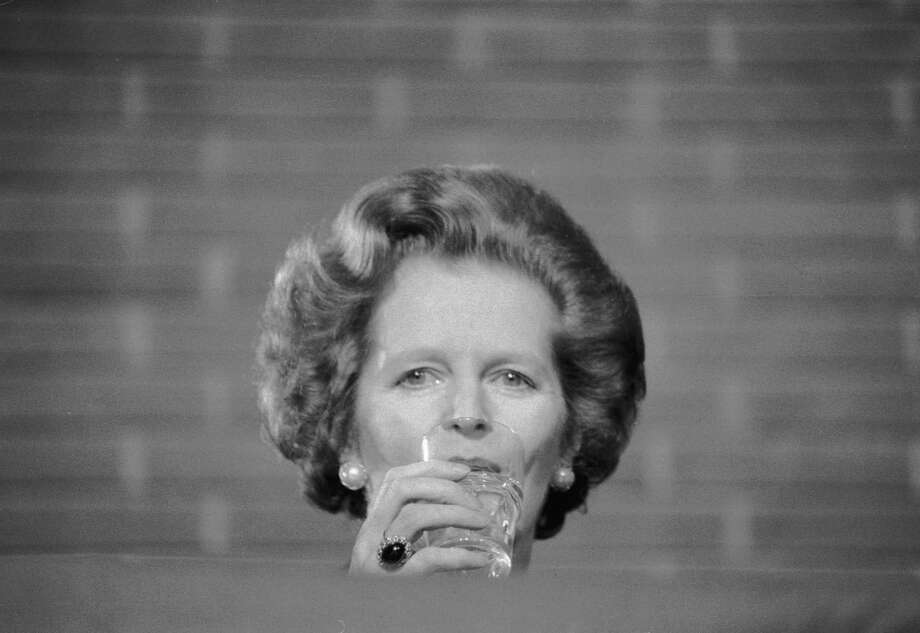 British Prime Minister Margaret Thatcher, circa 1980. Photo: Larry Ellis Collection, File / 2005 Getty Images